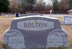 Agnes Geraldine <I>Weible</I> Bolton
