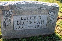 Bettie D. <I>Chinn</I> Brockman
