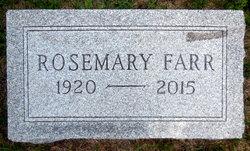 Rosemary Ina Farr