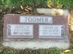 Orson Toomer