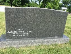 """James """"Bo"""" Wylds, III"""