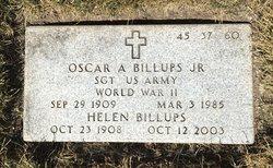 Oscar A Billups, Jr