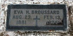 "Eveline ""Eva Evie"" <I>Haydel</I> Broussard"