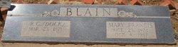 Mary Frances <I>Daniel</I> Blain