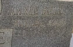 Annie Bell <I>Simpson</I> Stowe