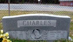 """Francis Aletha """"Frenchie"""" <I>Burton</I> Charles"""