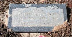 Whitford V Bate