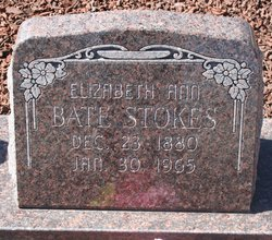 "Elizabeth Ann ""Annie"" <I>Whitford</I> Stokes"