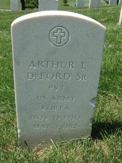 Arthur L Deford, Sr