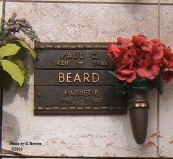 Harriet P <I>Coffee</I> Beard