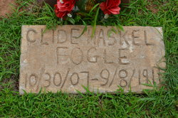 Clide Haskell Fogle
