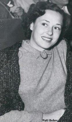Pati Behrs <I>Eristoff</I> Lindley