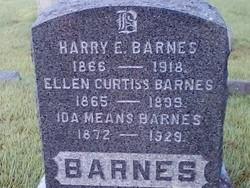 "Ellen Elizabeth ""Nellie"" <I>Curtiss</I> Barnes"