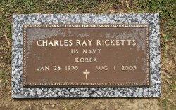 """Charles R """"Ray"""" Ricketts"""