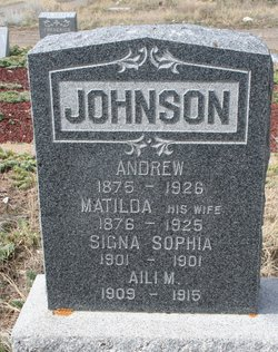 Signa Sophia Johnson
