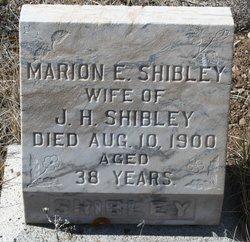 Marion E Shibley