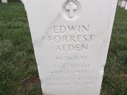 Edwin Forrest Alden