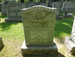 Anna Darrish <I>Strauss</I> Oberman