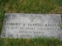Robert A Dehollander