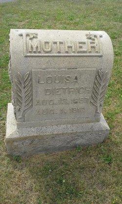 Louisa D. <I>Merkel</I> Dietrich