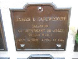 Lieut James Lawson Cartwright
