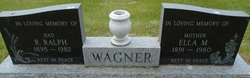 Ella Melissa <I>Evensizer</I> Wagner