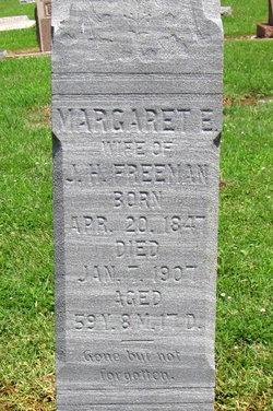 Margaret Emaline <I>Sherrill</I> Freeman