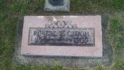 Robert W Croom