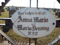 Anna Maria <I>Kapp</I> Denning
