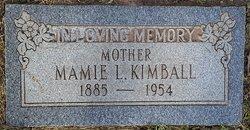 Mamie Lee <I>Melton</I> Kimball