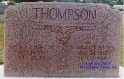 Margaret <I>Brown</I> Thompson