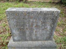 Elizabeth J. <I>Bagwell</I> Feazel