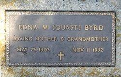 Edna M. <I>Quast</I> Byrd