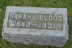 Sarah L <I>Owens</I> Blood