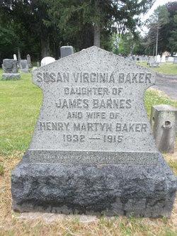 Susan Virginia <I>Barnes</I> Baker