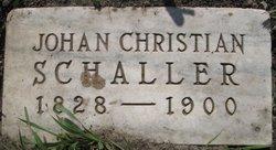 Johan Christian Schaller