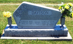 Evelyn Mae <I>Taylor</I> Davison