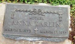 Anna <I>Leikam</I> Karlin
