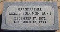 'William' Leslie Solomon Bush