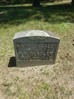 Mary E <I>Buckley</I> Bradley