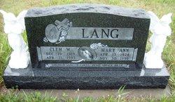 Clem W. Lang