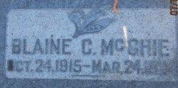 Blain Clesson McGhie