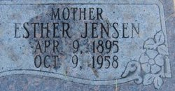 Esther <I>Jensen</I> McGhie