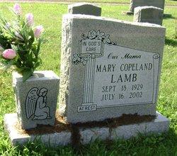 Mary <I>Copeland</I> Lamb