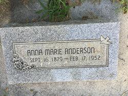 Anna Marie <I>Thompson</I> Anderson