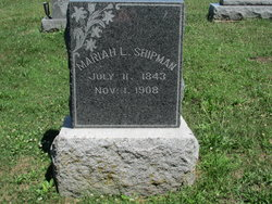 Mariah L Shipman