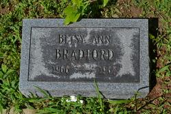 Betsy Ann Bradford