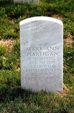 Mary Ann <I>Westoff</I> Hartigan