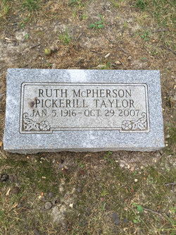 Ruth <I>McPherson</I> Taylor