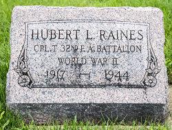 Hubert Lee Raines